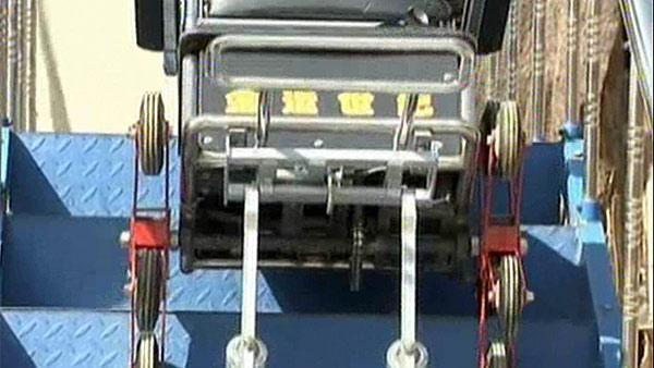 Una silla que sube y baja escaleras for Silla sube escaleras precio