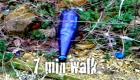'7 minute walk'