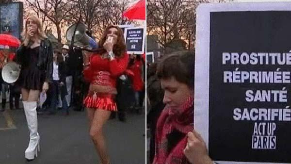 manifestacion prostitutas fotos de prostitutas