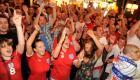 Inglaterra celebra el pase a octavos