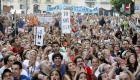 El 15M protesta en la casa de Rita Barberá