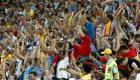 La emoción estalló en España