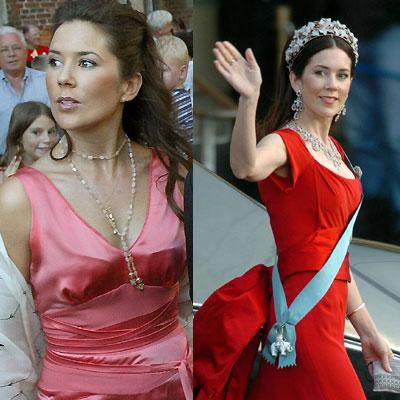 Mary Donaldson. Aunque siempre ha sido delgada, la Princesa de Dinamarca, Mary Donaldson, ha adelgazado más en los últimos meses, desde su boda con el Príncipe Federico.
