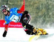 Suiza domina en snowboard