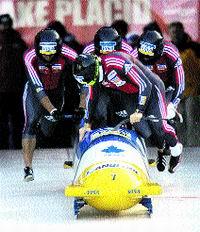 A ritmo de bobsleigh