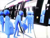 Metro pide dinero para emitir un vídeo a favor del asiento reservado