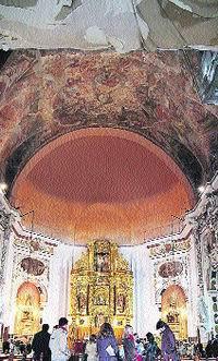 Restauración de frescos