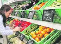 El frío obliga a importar las hortalizas y dispara su precio