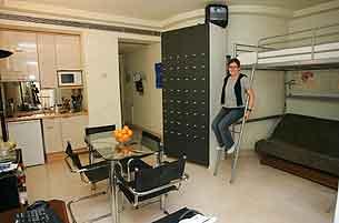 La vida en menos de 30 metros cuadrados for Como decorar un estudio de 20 metros cuadrados