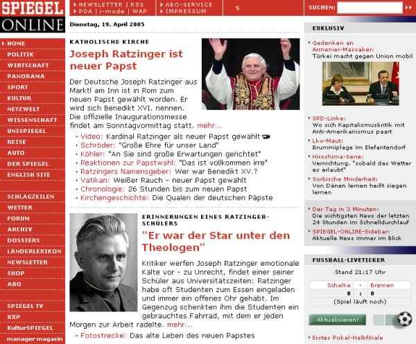 Galería medios - Spiegel