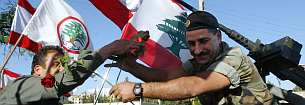 Líbano tropas