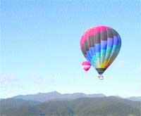 Girona es promociona en globus