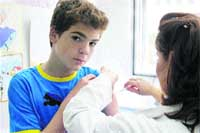 Pinchazo a la meningitis