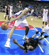 Detroit pisa fuerte en la NBA