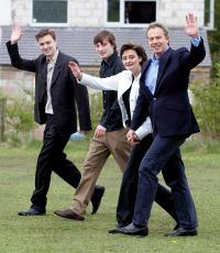 Blair y familia