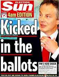 blair elecciones prensa