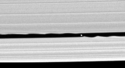 La nueva luna de Saturno