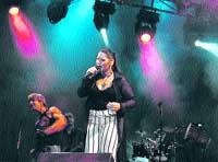 La Blues Band de Granada y Rosa, juntos en el Cervantes