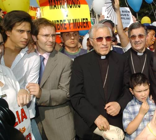manifestacion de la familia madrid