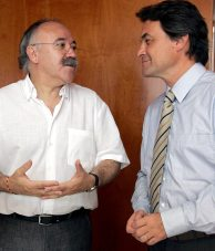 Carod y Artur Mas