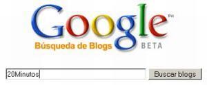 Google lanza un buscador de Blogs