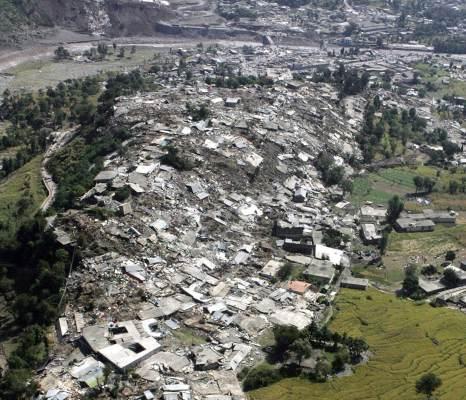 Resultado de imagen de terremoto en cachemira