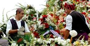 Ofrenda de Flores del Pilar, Zaragoza