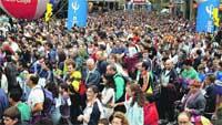 15.400 atletas por la integración