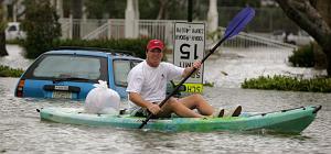 Wilma inunda Miami