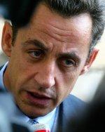 El ministro de Interior francés, Nicolás Sarkozy