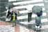 Termómetro a la baja y lluvia