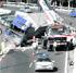 El vuelco de un camión tapona la A-7 tres horas en el Faro de Calaburras