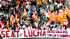Masiva protesta en Barcelona contra 1.346 despidos