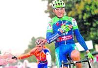 Adiós al ciclismo con victoria