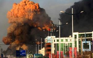 Nube tóxica sobre Jilin en China
