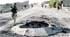 Cráteres de minas: estampa típica iraquí