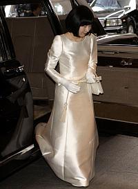 Boda de la princesa japonesa Sayako.