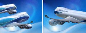 Los dos nuevos modelos presentados por Boeing