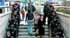 Despliegue policial en el metro surcoreano