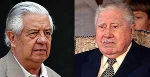 Pinochet y el ex jefe de la policía secreta, cara a cara (EFE)