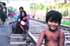 Dura vida en las estaciones de Calcuta
