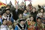 Bush da las gracias a Mongolia por enviar tropas a Irak