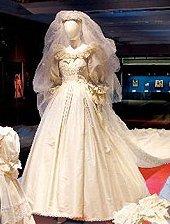 El traje de novia de Lady Di