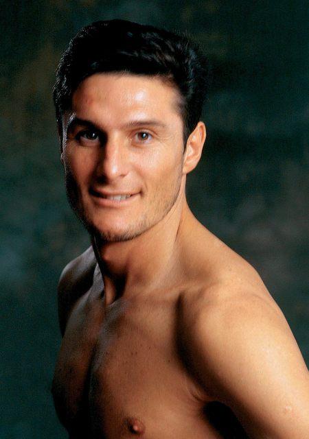 fotogalería calendario jugadores italianos Zanetti. Javier Zanetti, defensa argentino del Inter de Milán.