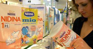 Envases de leche infantil (www.nestle.es).