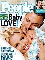Britney con su hijo