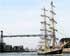Prohíben navegar por la Ría al velero bergantín