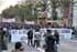 Protestas, huelga y tráfico caótico en la cumbre