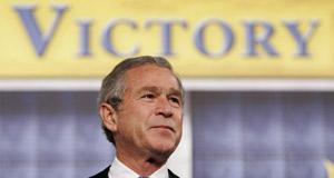bush victoria irak