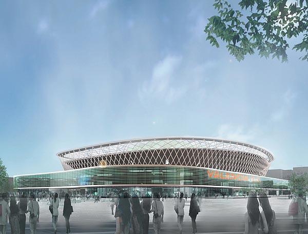 Proyectos del estadio del Valencia llanera 2